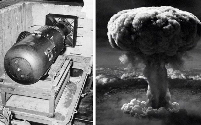 Estados Unidos lanza bomba nuclear en Hiroshima.