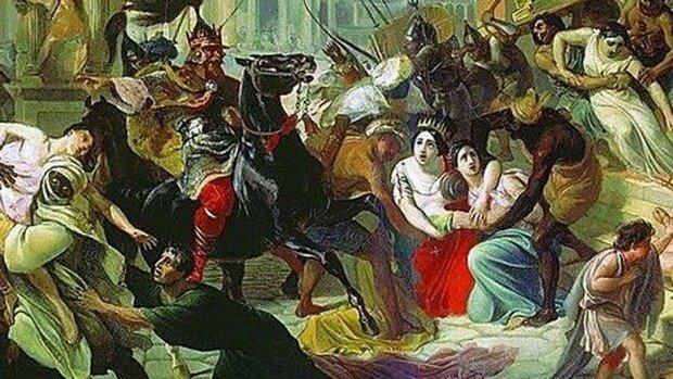Caída del ultimo emperador romano del Occidente