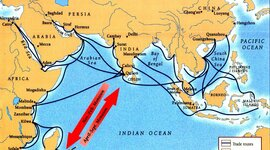 The Trade Developments and Networks by Way of indian Ocean during the Classical Period timeline