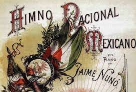 1854, Himno nacional
