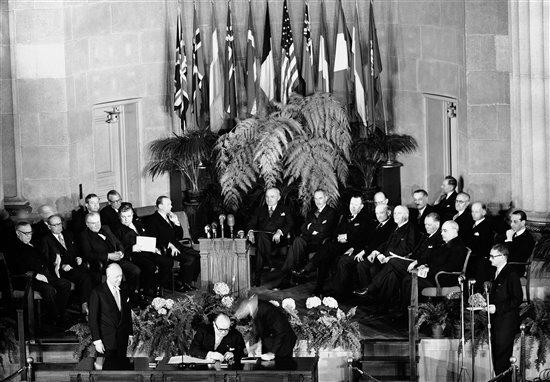 Tratado del Atlántico Norte.