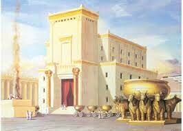First Temple inaugurated by King Salomon