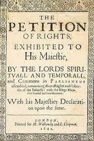Peticion de derechos - Inglaterra