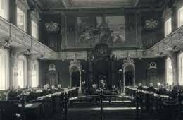 Mise à bas de la chambre d'assemblée