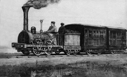 Fondation de la première compagnie de chemin de fer