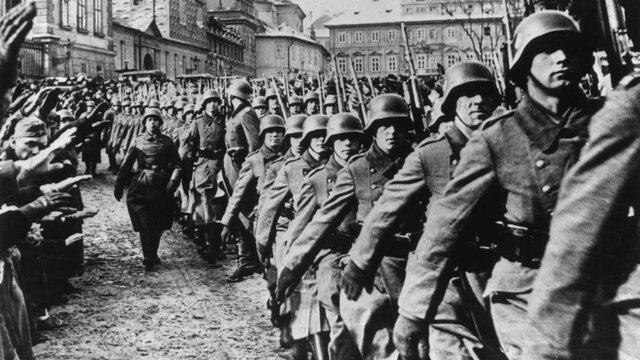 Desarrollo de la Segunda Guerra Mundial.