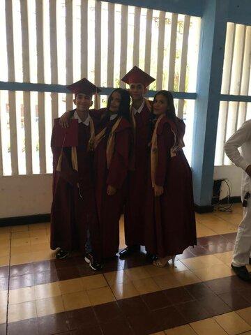 my graduation of the high school