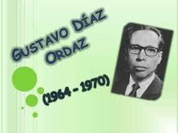 Gustavo Diaz Ordaz (1964-1970).