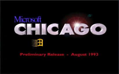 Windows Chicago