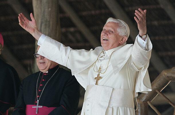 Pope Benedict XVI visits Brazil