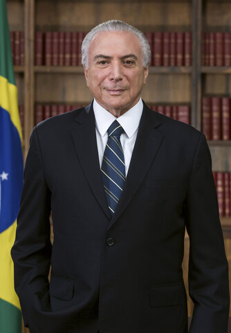 Michel Temer becomes the president of Brazil