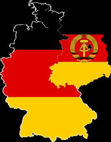 La República Federal de Alemania y la República Democrática Alemana.