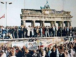 Caída del Muro de Berlin.