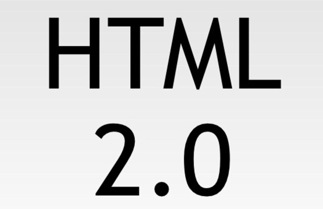 22 DE SEPTIEMBRE DE 1995 HTML 2.0 oficial