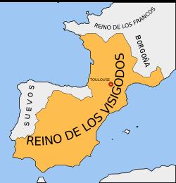 Invasión musulmana a la península ibérica (711)