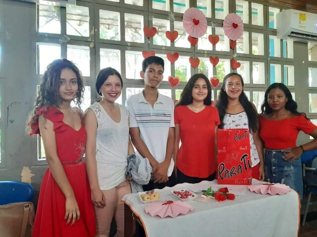 Celebration of love and friend