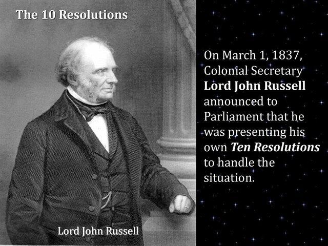 10 Résolutions de Russel