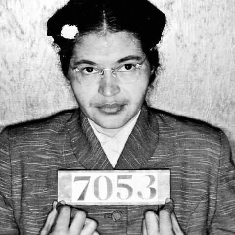 Rosa Parks, icône de la déségrégation aux États-Unis (doc5)