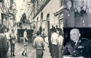 Golpe de estado  por el general Perez Godoy