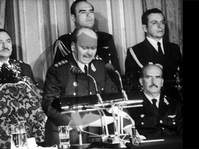 Golpe de estado  por el general Velasco Alvarado
