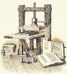 La invención de la imprenta y la polvora