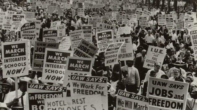 La période de lutte d'égalité des droits (doc6)