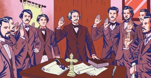 Creación de la sociedad secreta La Trinitaria