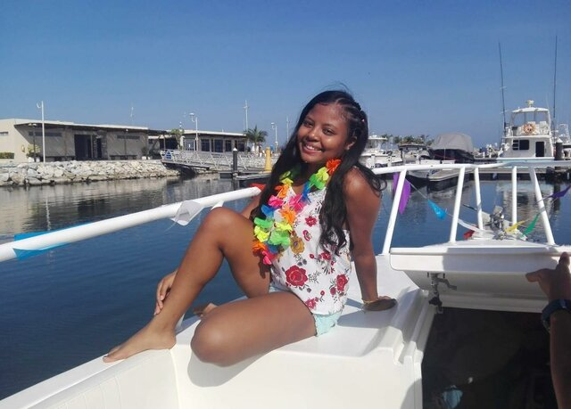 MY FIRST TIME ON A YACHT