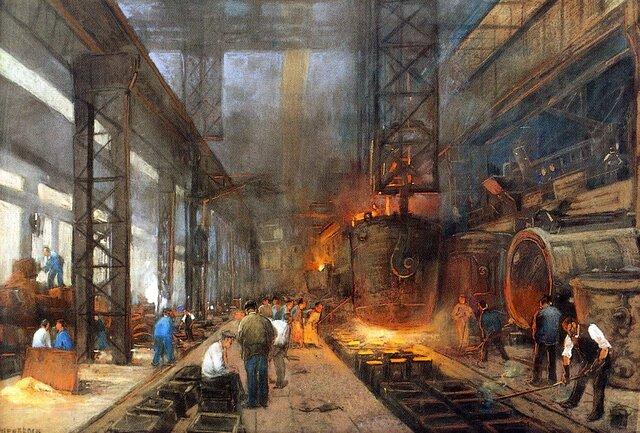 Etapas de la Revolución Industrial