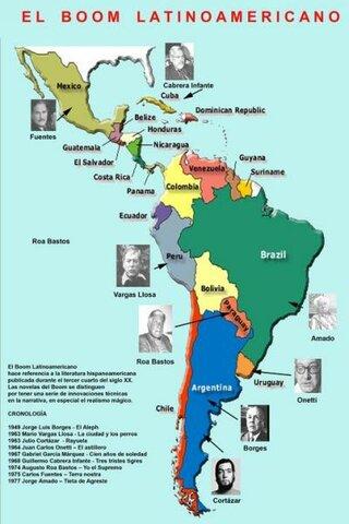 Exparsion del Boom Latinoamericano