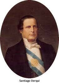 la presidencia de Derqui 1860