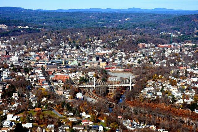 Born in Fitchburg Massachusetts