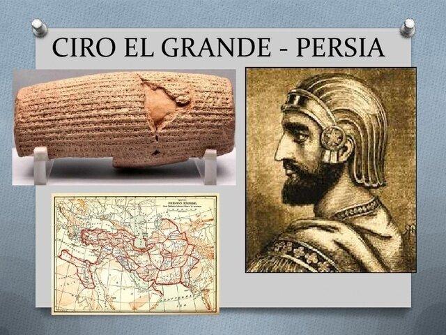 539 a de C. Ciro conquista a Babilonia