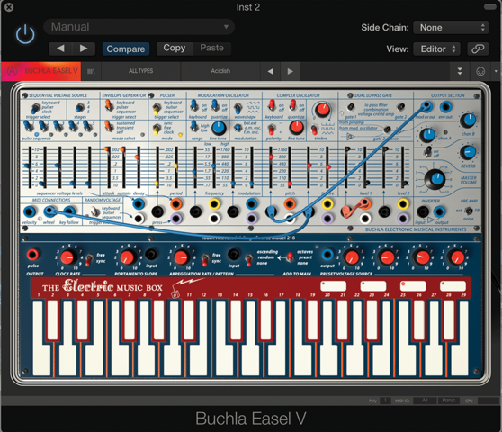 Designed The System Concepts Digital Synthesizer, also known as Samson Box
