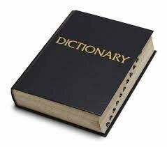 TMRC Dictionary Creation