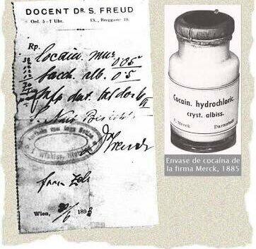 Freud publica sus primeros artículos con el uso de la cocaína con fines terapéutico