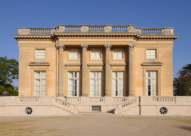 Louis XVI and French provincial famous architecture