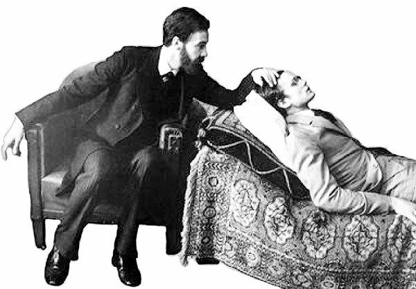 Freud comienza a utilizar el método de asociación libre con Emmi Von N.