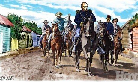 Contraataque del gobernador Santana