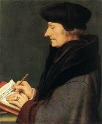 El holandés Erasmo de Rotterdam (1466-1536).