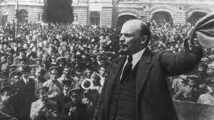 La llegada de Vladimir Lenin