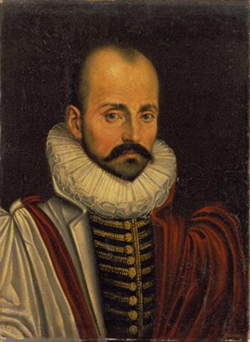 El francés Michel de Montaigne (1533-1592).