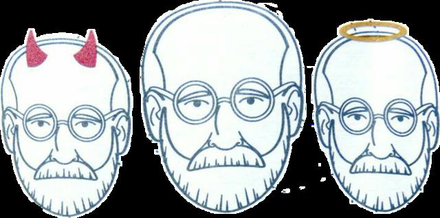 Freud describe las instancias del Yo y el Ello