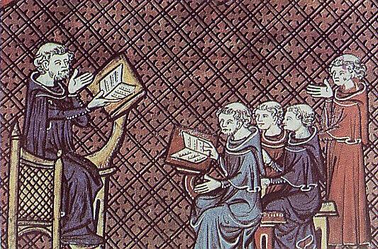 La Europa Medieval (El sostén de la educación era la iglesia)