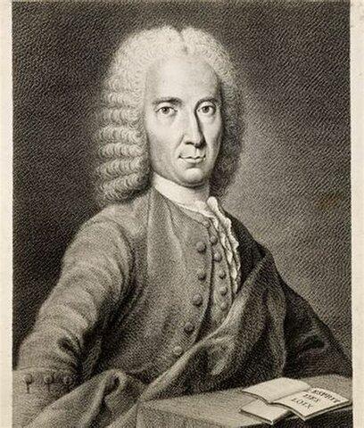 Montesquieu escribe El espíritu de las Leyes.