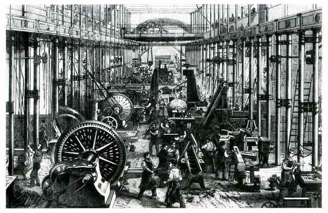 Start van de industriële revolutie