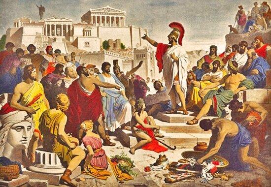 Caída de Atenas