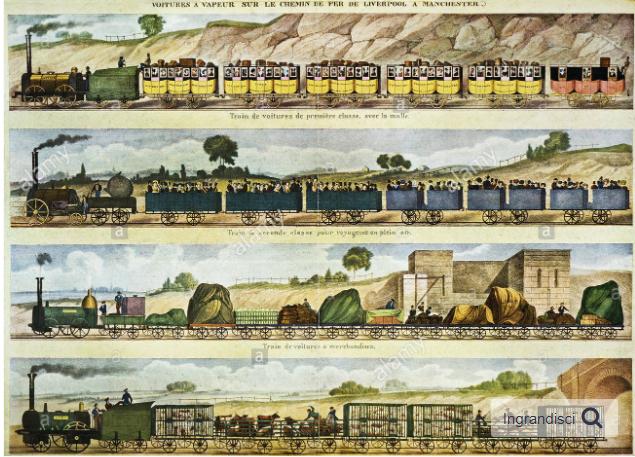 Primo treno (Liverpool-Manchester)