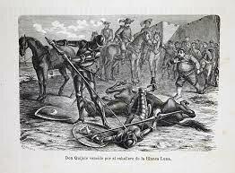 La derrota del Quijote