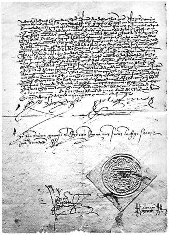 Decreto di espulsione degli ebrei dal Regno di Spagna